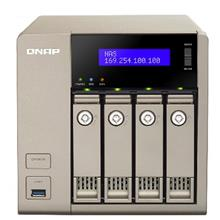 QNAP TVS-463-4G 4-Bay Diskless Network Attached Storage